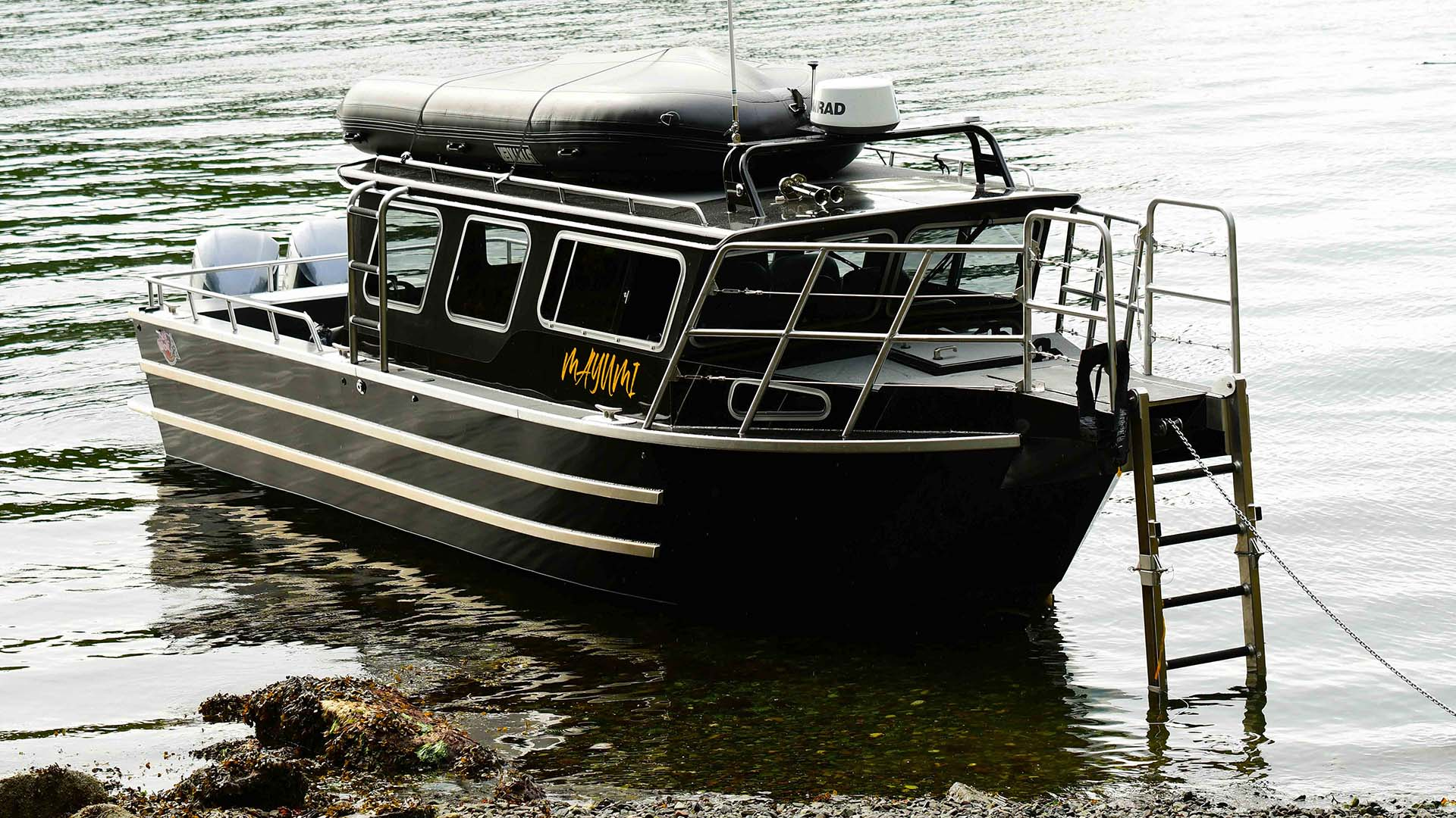 Mayumi - One of Sea Wolf Adventures' tour boats