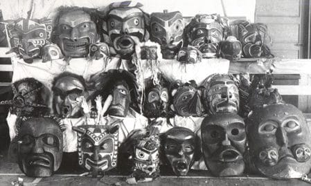 Confiscated Masks